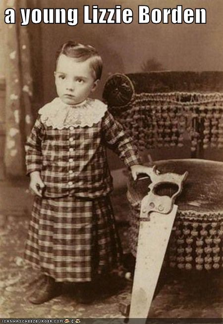 child girl lizzie borden murderer ominous saw