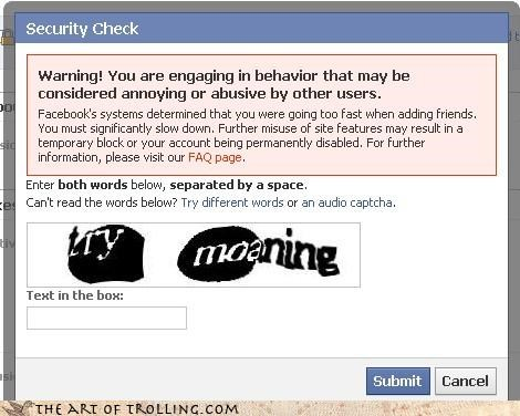 annoying,captcha,facebook,i tried it,its-not-working,moaning