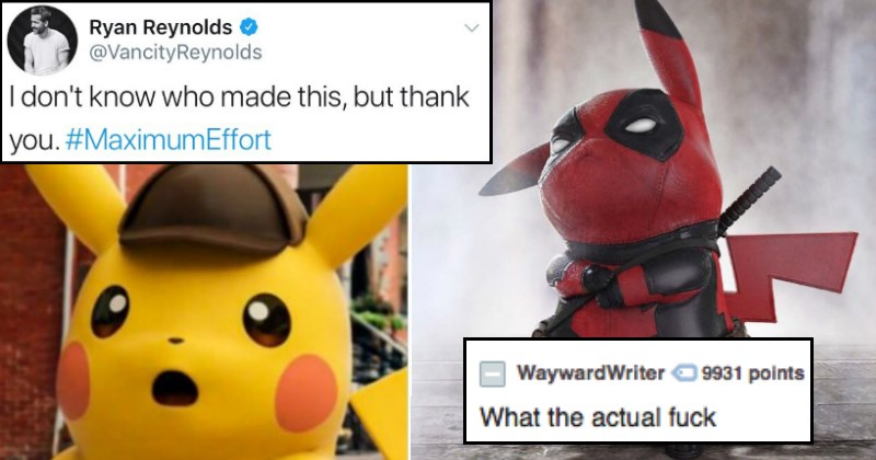 twitter the internets pikachu ryan reynolds funny - 4203525