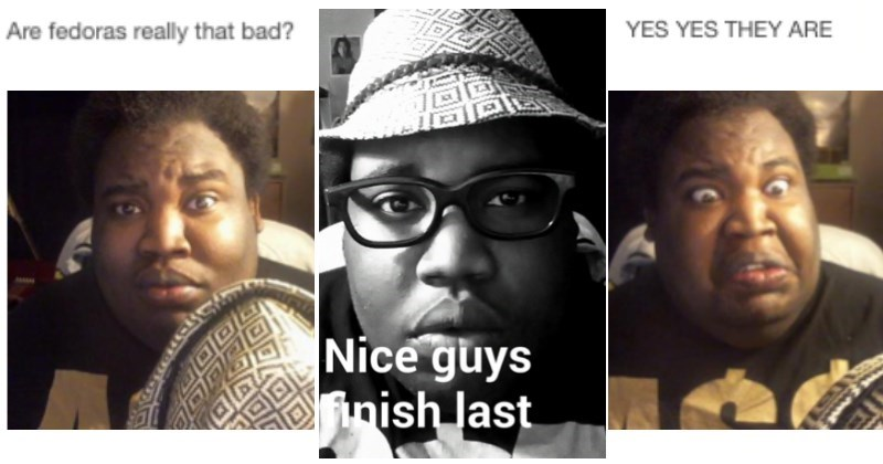 Tumblr Analyzes Whether or Not Fedoras are Really THAT Bad