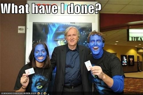 Avatar,celeb,funny,james cameron