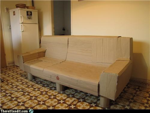 cardboard cardboard box furniture