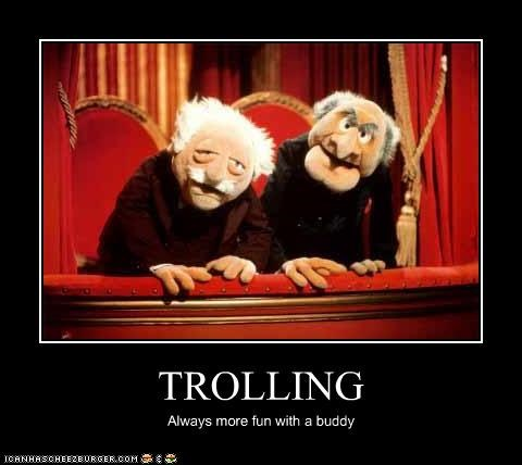 demotivational funny Hall of Fame lolz Statler and Waldorf The Muppet Show trolling - 4207592192