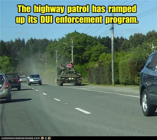 The highway patrol has ramped up its DUI enforcement program.