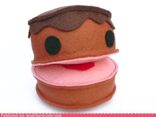 cake face felt funny Plush - 4208803584