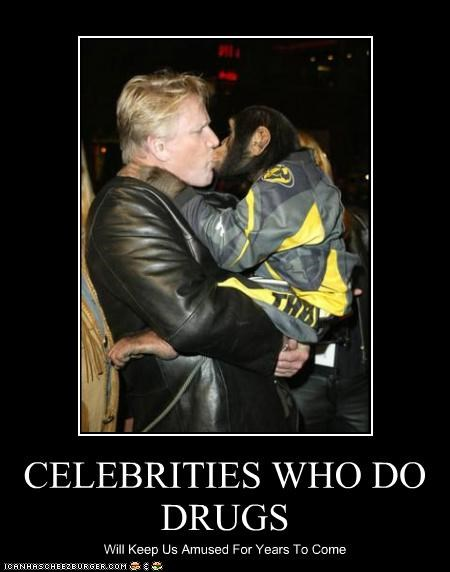 actor animal celeb crazy demotivational funny gary busey - 4209250560