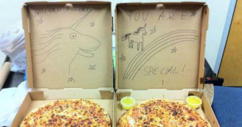 weird pizza delivery request