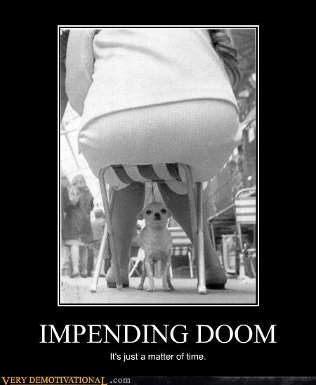 chair Impending Doom dogs matter of time - 4211403776