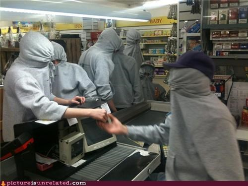 grocery store,hoodies,lol,robbers,wtf