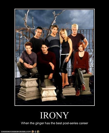 actor Buffy the Vampire Slayer celeb demotivational funny TV - 4212219136