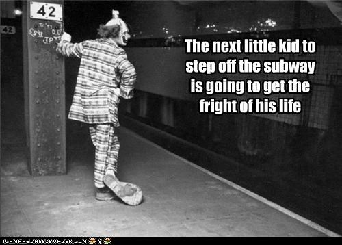 clown creepy funny Photo wtf