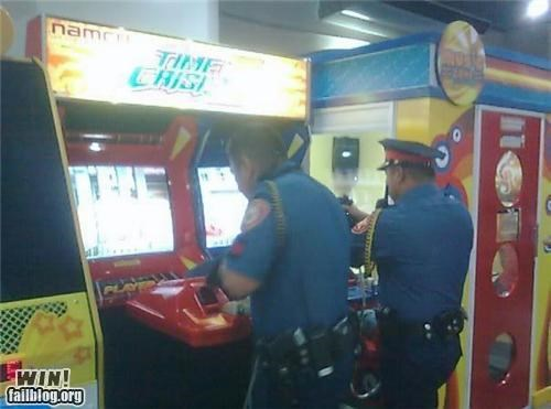 awesome at work police video games - 4212888832