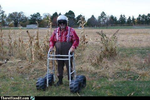 off road old people walker - 4212936192