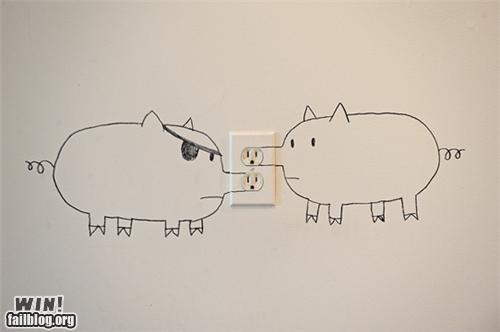 animals art clever - 4213043456