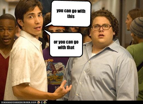 actor celeb funny jonah hill justin long lolz - 4213055232