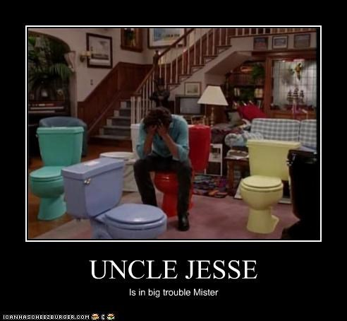 UNCLE JESSE Is in big trouble Mister