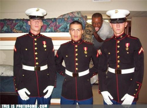 jk lurker marines military photobomb
