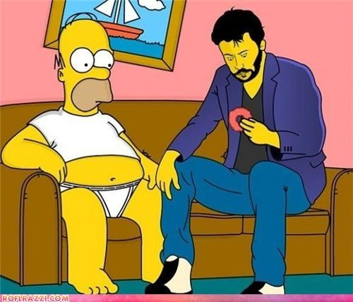 homer,meme,sad keanu,simpsons