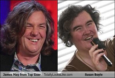 Hall of Fame,james may,singer,susan boyle,top gear