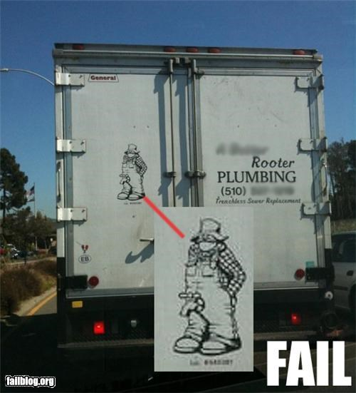 business failboat logo pants plumbing tap Things That Are Doing It truck wrong spot