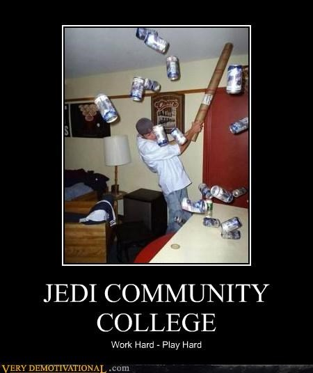 college,drinking,school,star wars,the force
