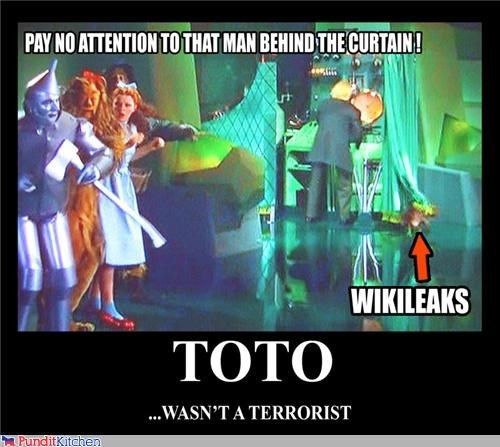 demotivational,wikileaks,wizard of oz