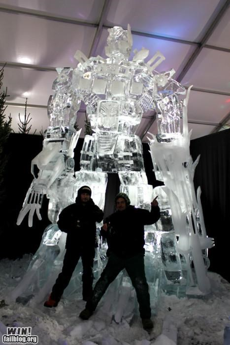 art ice winter Winter Wonderland - 4216280064