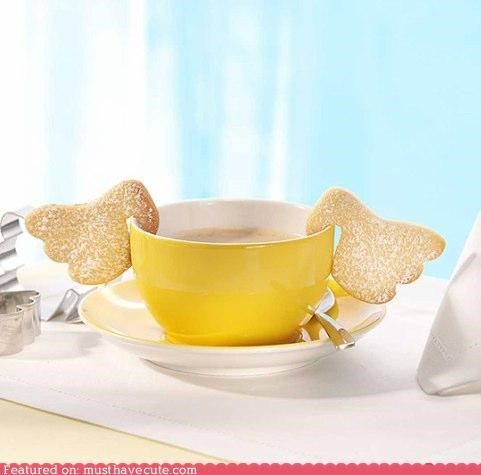 angel cookies epicute tea wings - 4216494336