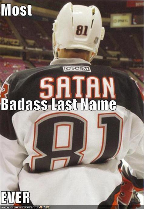 Most Badass Last Name EVER - Cheezburger - Funny Memes