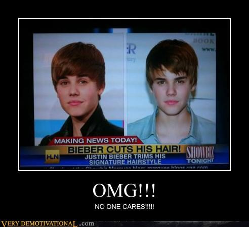 haircut,irony,justin bieber,news,wtf