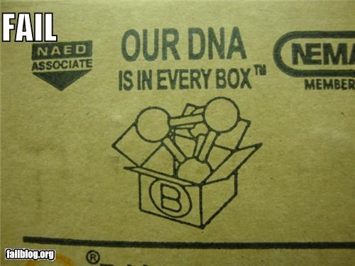 boxes business DNA failboat innuendo packaging science slogan - 4217059072