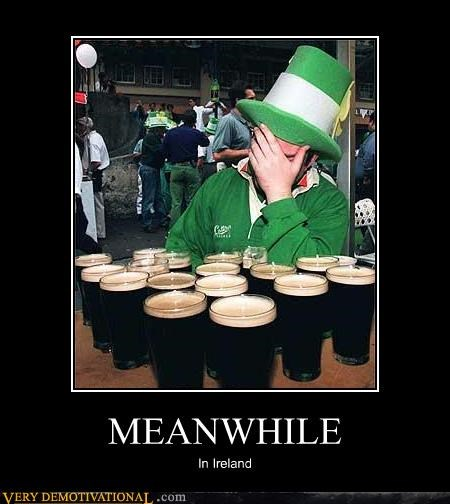 beer Ireland leprechauns Meanwhile regret - 4217411072