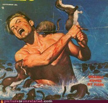 books bro dang ferrets Pulp violence wtf - 4219037440