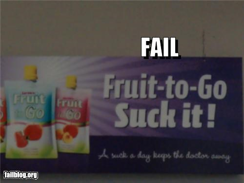 ads bad idea failboat food innuendo signs slogan snacks - 4219551232