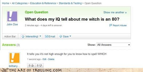 homonyms,IQ,spelling,which,witch