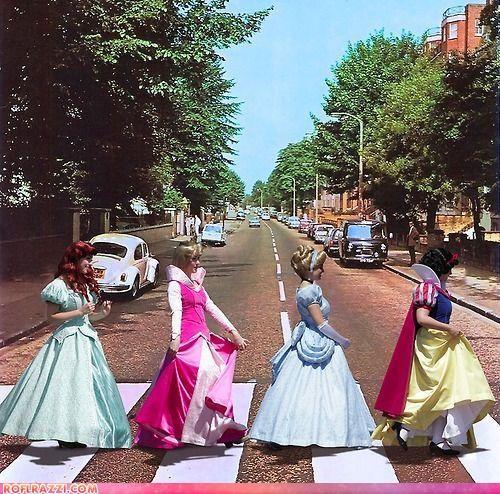 art disney Hall of Fame princess the Beatles - 4219919104