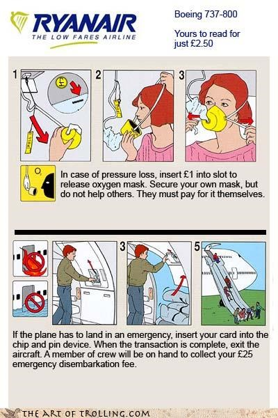 airlines,cheap,emergencies,oxygen,safety,slide