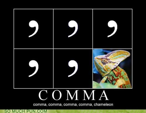 British comma culture club hit karma chameleon oxford comma parody single song UK
