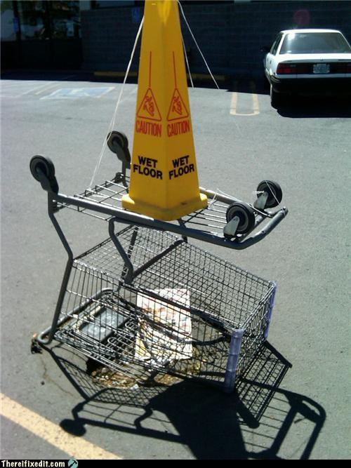cautionary fail Professional At Work shopping cart - 4220503808
