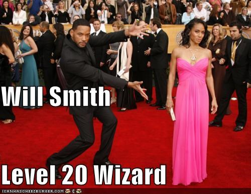 Will Smith Level 20 Wizard