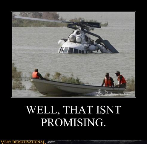 boat crash FAIL helicopter lol water - 4221320448