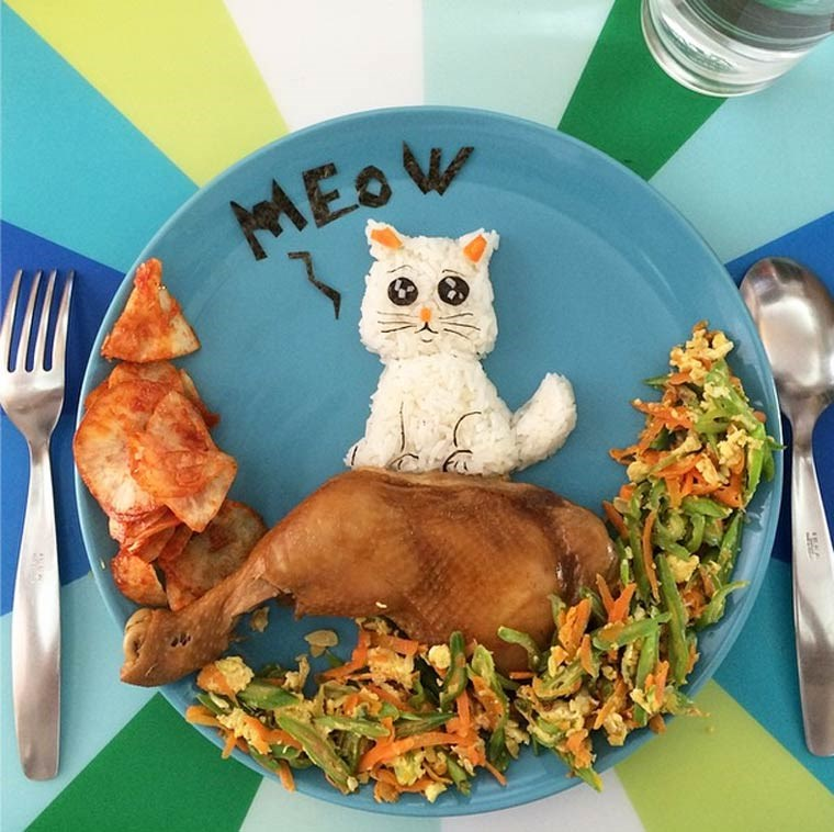 meals creative lunch mom animals - 4221445