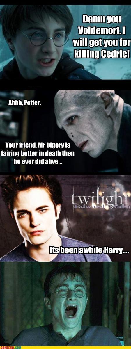 Cedric edward cullen Harry Potter twilight voldemort - 4221838592