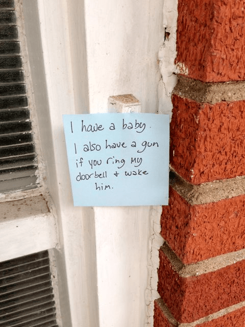 doorbell note newborn mom - 4221957