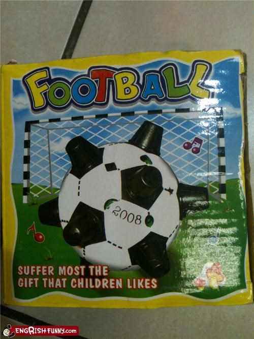 ball knockoff pain Sad soccer suffering toy - 4222220800