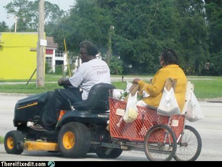 lawn mower shopping cart - 4222835200