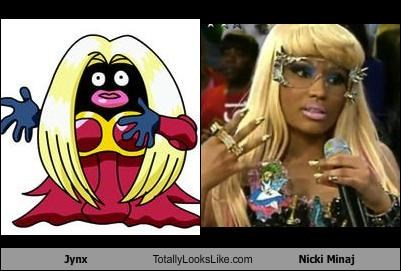 Hall of Fame jynx nicki minaj Pokémon rapper