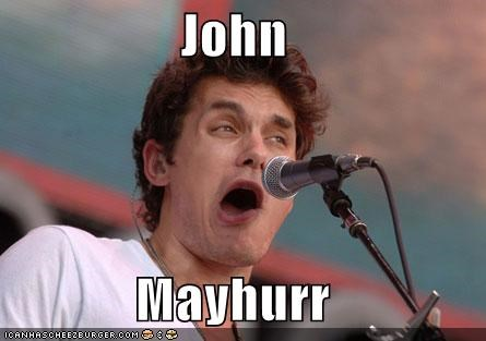 celeb derp funny Hall of Fame john mayer lolz Music - 4223129856