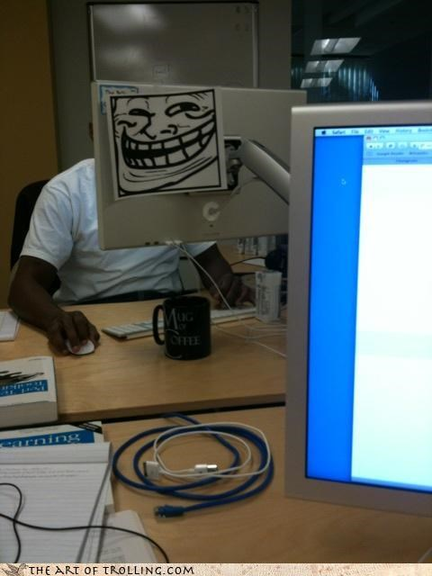 computers problem tech support troll face - 4223625984