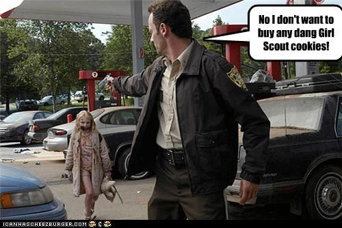 funny lolz The Walking Dead zombie - 4223959552